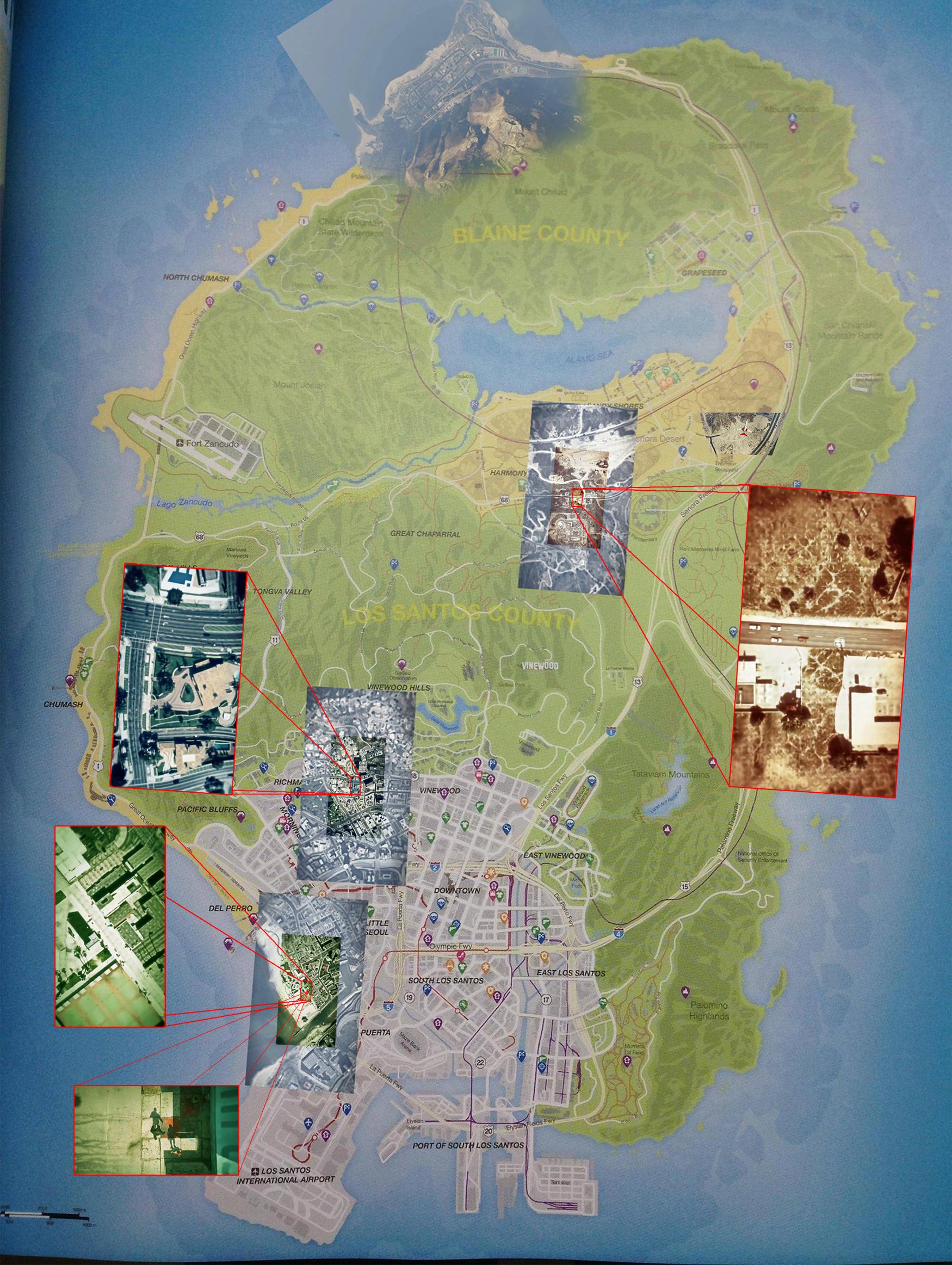 Gta V Map Rockstarlasia